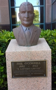 Phil O'Connell Sr. Statue Palm Beach County State Attorney Building